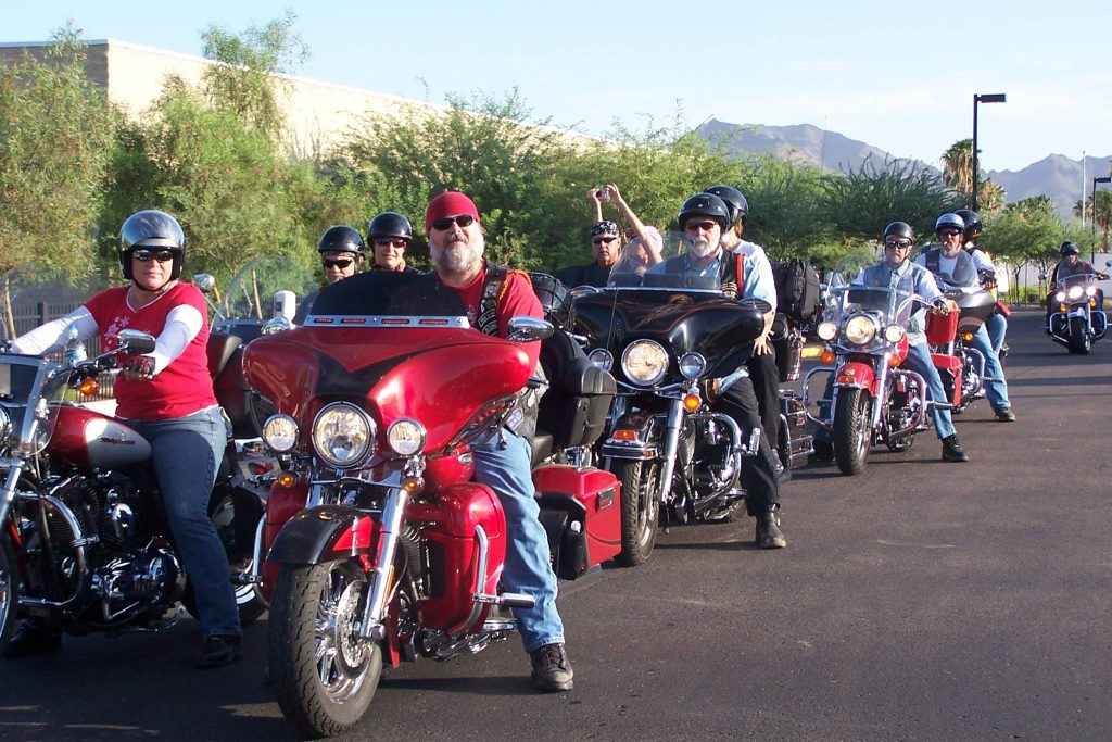 Riders staging for our inaugural FOTK event in 2008